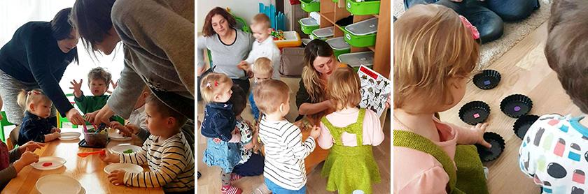 Vaikų dirbtuvės švenčių metu