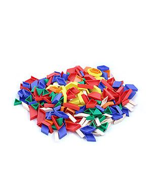 Plastikinės mozaikinis plokštelės mažesniems pirštukams