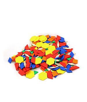 Plastikinės mozaikinės plokštelės didesniems pirštukams