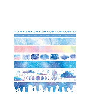 Popierinės lipnios juostelės (10 vnt.)