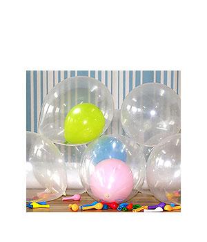 Skaidrūs balionai (1 vnt.)