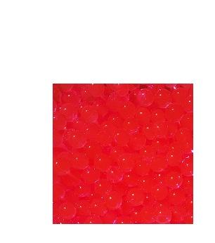 Vandens karoliukai raudoni