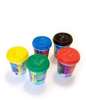 Play-doh minkštučio plastilino rinkinys (5 spalvos x 100 ml)