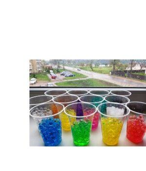 Vandens karoliukų rinkinys (12 spalvų)