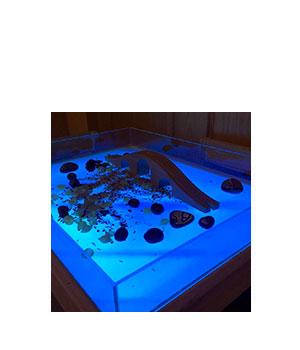 Lavinamojo šviesos stalo antstalis