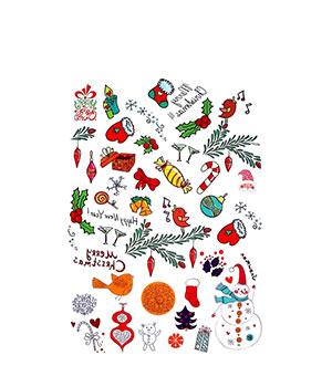 Vaikiškos tatuiruotės | Kalėdos