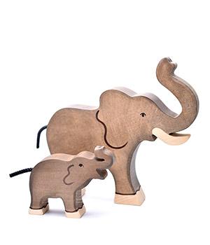 """Mediniai drambliai """"Tėtis ir vaikelis"""""""