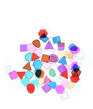 Skaidrios plokštelės šviesos stalui