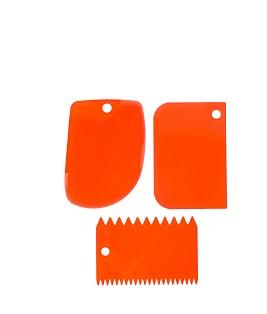 Plastikiniai peiliukai (3 vnt.)