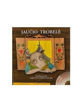 """Knyga ir CD """"Jaučio trobelė"""""""