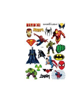 Superherojų tatuiruotės