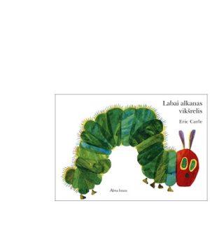 """Laba alkanas vikšrelis"" knyga + DIY"