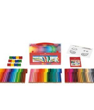 Faber-Castell Connector felt-tip, 60 spalvų