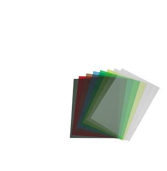 Skaidrus spalvotas plastikas (1 vnt.)