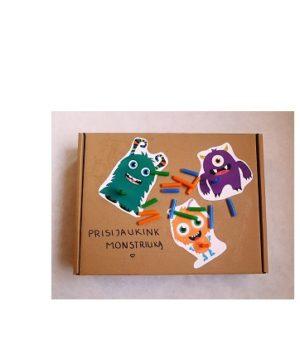 """Kūrybinė dėžė """"Darbščiosios rankelės"""""""