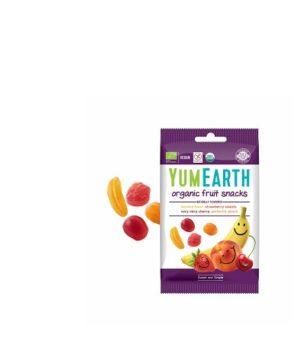 Ekologiški želės saldainiai, įvairių vaisių ir uogų skonių, 50 g