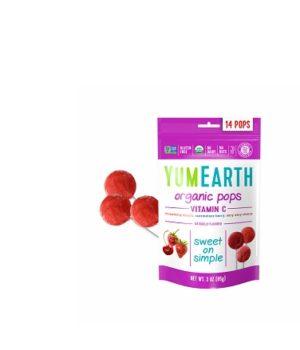 Ekologiški ledinukai ant pagaliuko su vitaminu C BIO, 3 rūšys, 85 g, 14 vnt.