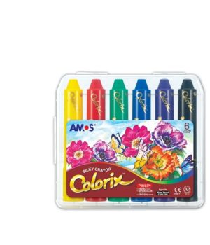 Colorix šilkinės kreidelės (6 vnt.)