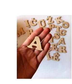 Medinė abecelė