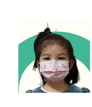 Vaikiškos vienkartinės veido kaukės (10 vnt.)