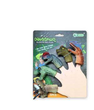 """Pirštelių žaidimas """"Dinozauras"""""""