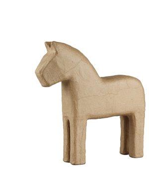 Kartoninis arkliukas dekorui