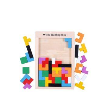 """Medinė dėlionė """"Tetris"""""""