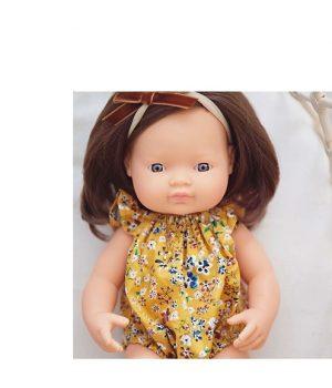 Miniland mergaitė šatenė (38 cm)
