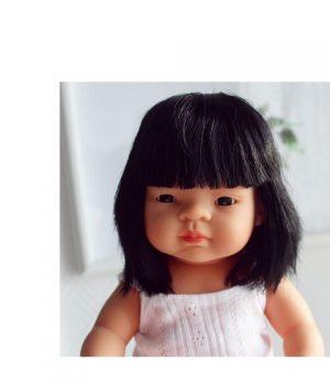Miniland mergaitė azijietė (38 cm)